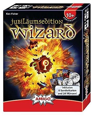 Amigo Wizard Jubiläumsedition 2017 Kartenspiel Mit 66