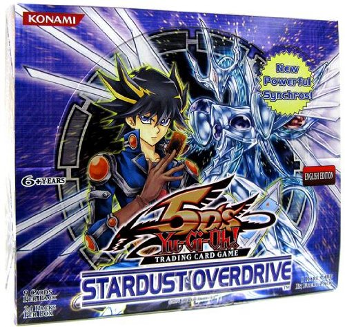Yugioh 5D's Stardust Overdrive Unlimited Booster Box (24 Packs) by Yu-Gi-Oh!