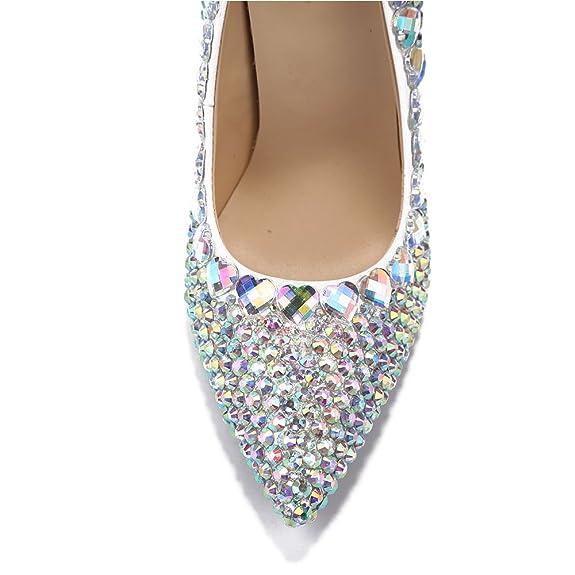 Tus Tacones Mujer Haz Pedrería Lacitena Zapatos Con Propios Para 45qR8