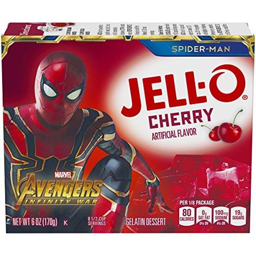 Jell-O Cherry Gelatin Dessert Mix, 6 oz ()