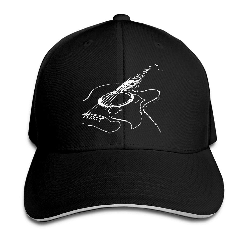 Madoling Acoustic Guitar Sandwich Hat Baseball Cap Dad Hat