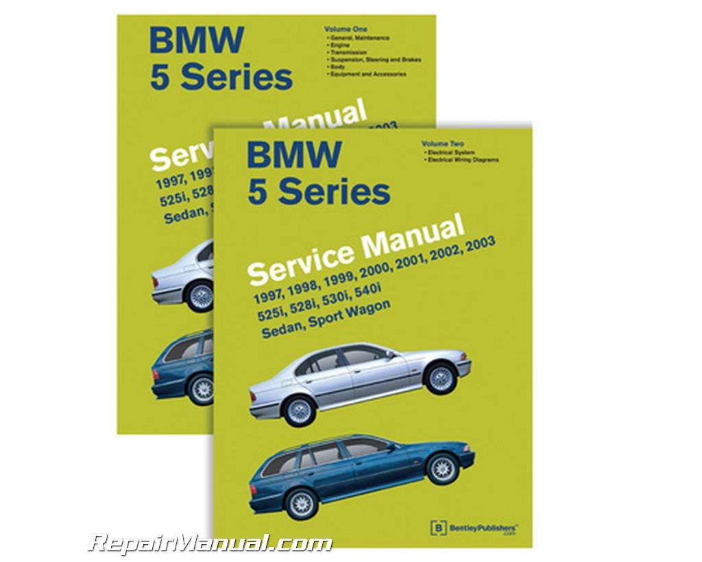 BMW 5 Series (E39 Service Manual: 1997, 1998, 1999, 2000, 2001, 2002, 2003:  525i, 528i, 530i, 540i, Sedan, Sport Wagon by Bentley Publishers published  by ...