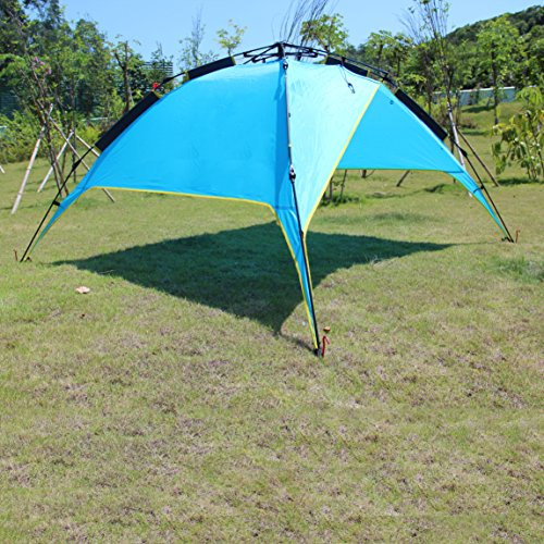Eaxea 4 Person Pop Up Tents For Camping 3 Season
