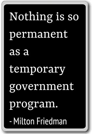 Amazoncom Nothing Is So Permanent As A Temporary Gove