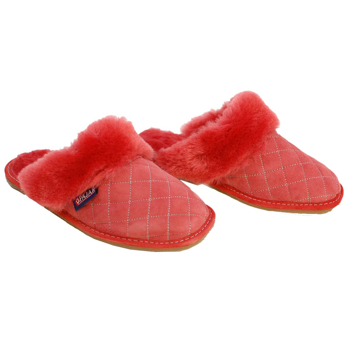 Pajar Women's MAE Slipper, Red, 10 M US