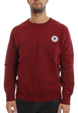 Converse Hombre Core con capucha del logotipo, Rojo, Medium: Amazon.es: Ropa y accesorios