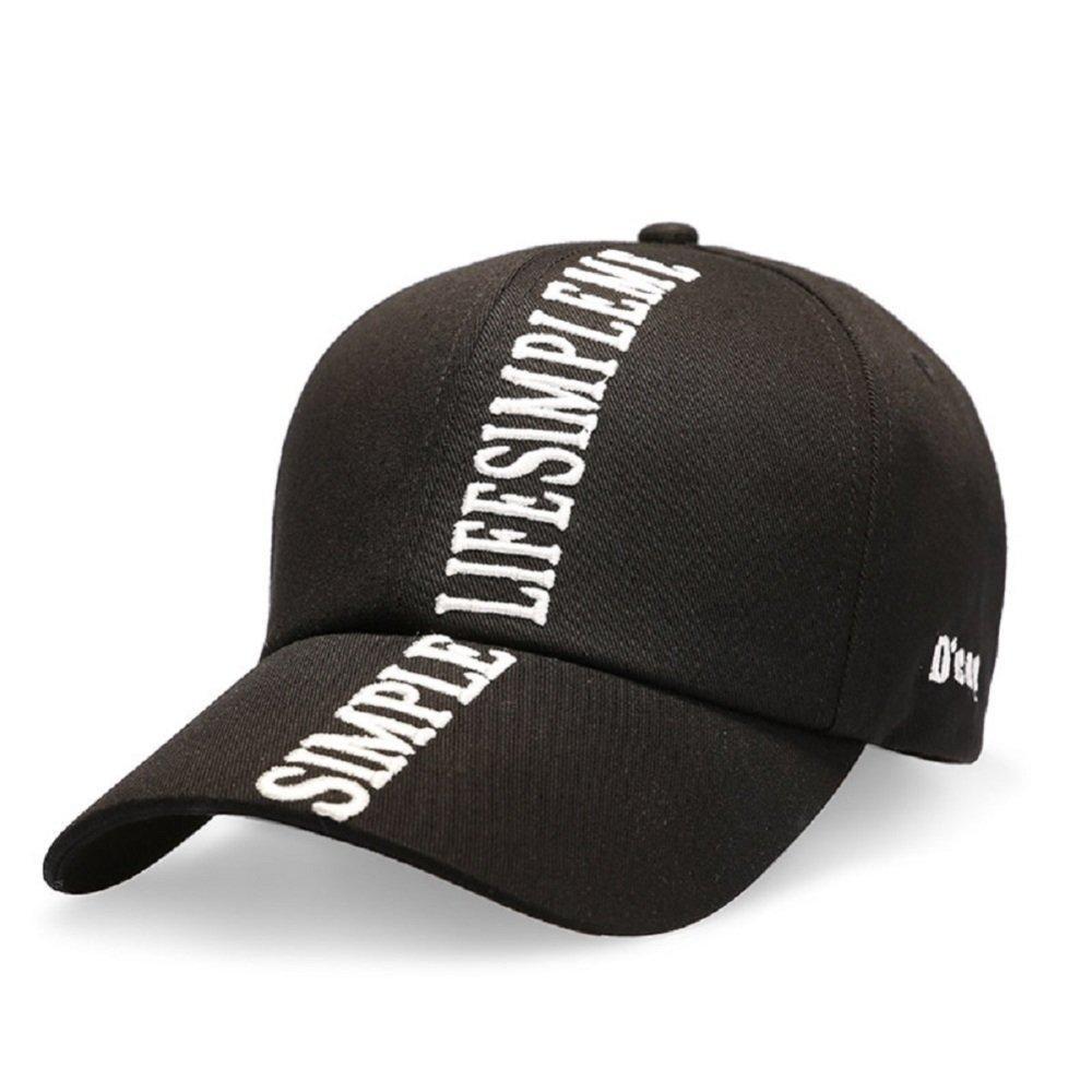 FJTHY Frühling und Herbst Baseball Cap Hut Einfache Atmosphäre Mütze Hut Sonnenhut