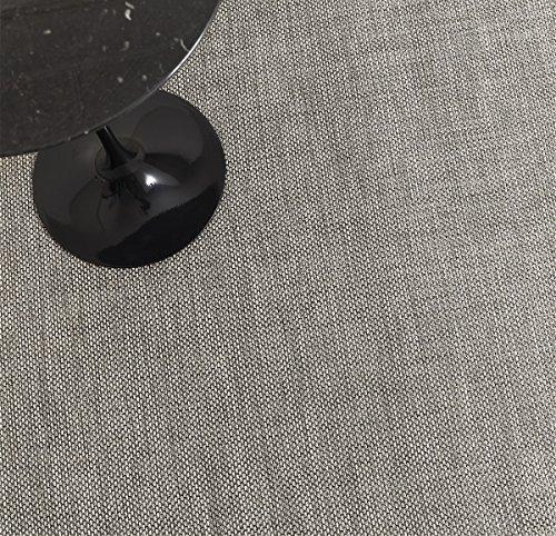 LTX Chilewich Basketweave Floor Mat 46'' X 72'' Oyster by Chilewich