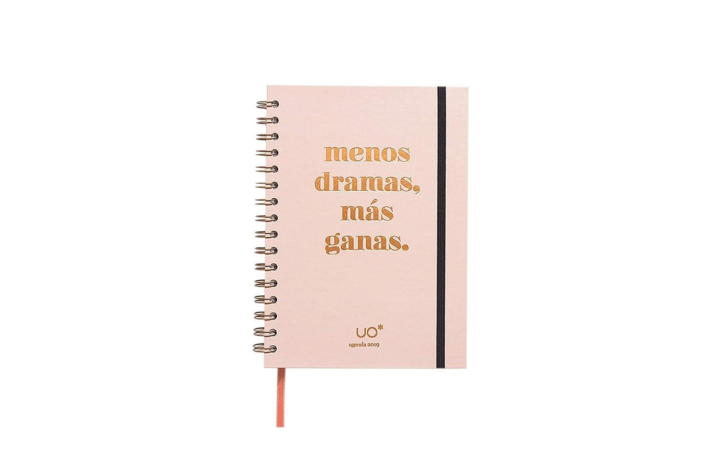 UO Less Dramas - Agenda anual 2019 semana vista