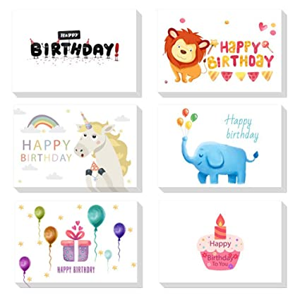 Magic Ants Happy Birthday Card Cute Animal Thank You Cards 48 Bulk Notes For Baby