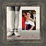 Ballet, Dancer Gifts for Teen Girls or Women, Personalized Dance Picture Frame 10X10 9721BW