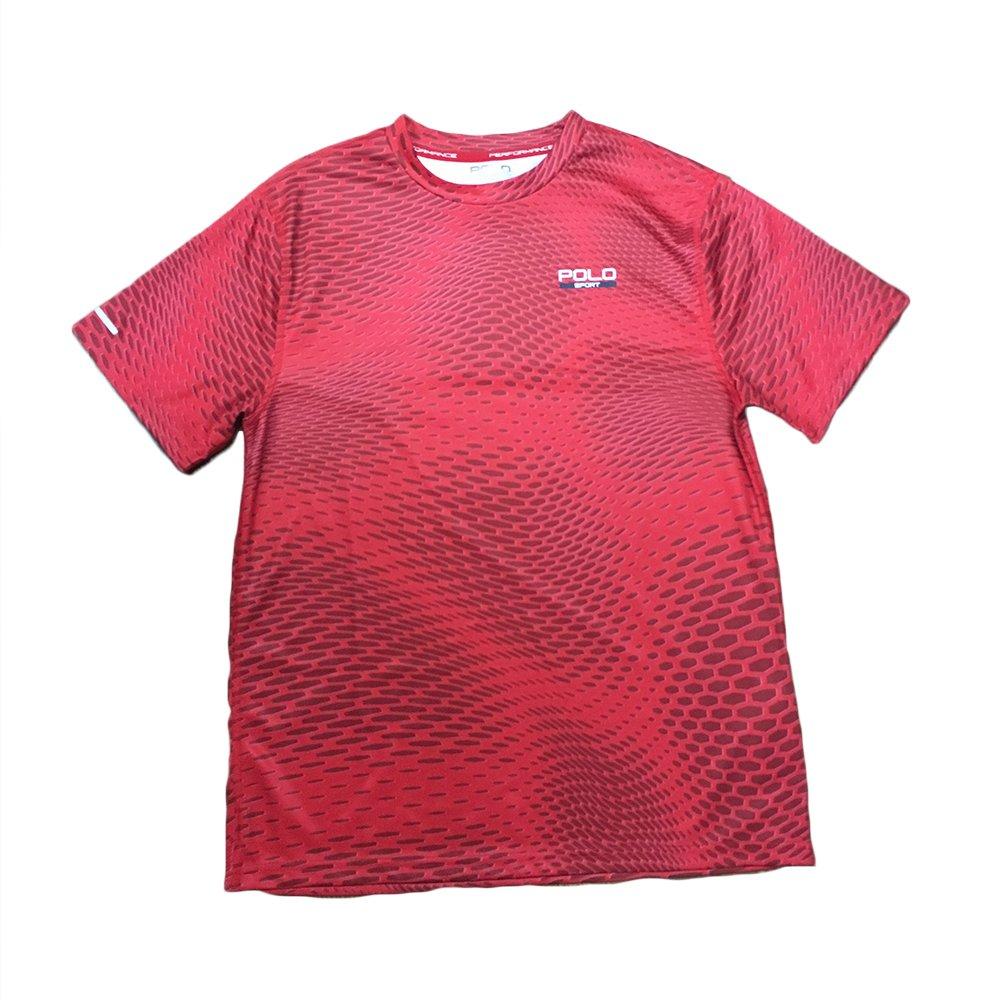 Polo Sport Hexagon Microdot Printed T-Shirt