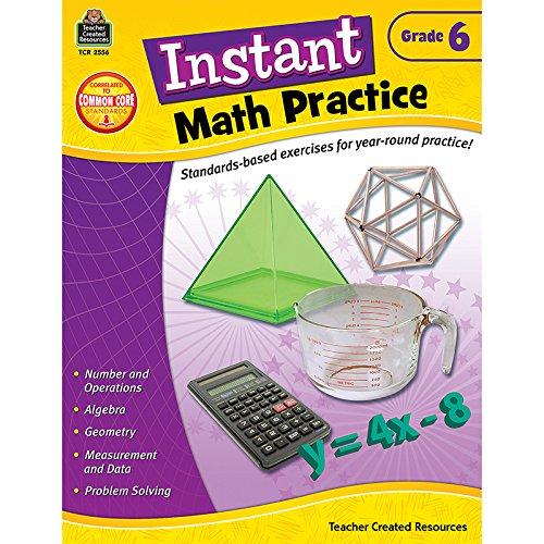 Instant Math Practice, Grade 6