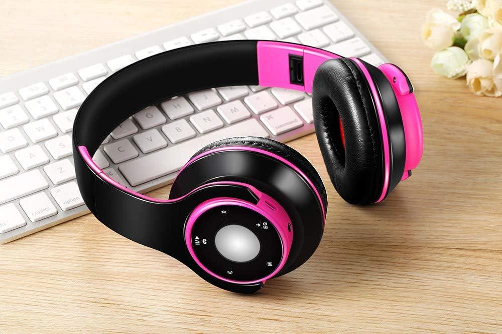 ZLAHY smart watch Beste oortelefoon Draadloze Stereo Bluetooth Hoofdtelefoon Ingebouwde Mic Zachte Oordopjes Sport Headset BASS voor ios en Android Roos