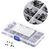 Yosoo 600 Piezas 15 Clases de Valores X 40 PC NPN PNP Transistor TO-92 Kit Set con Caja de Plástico