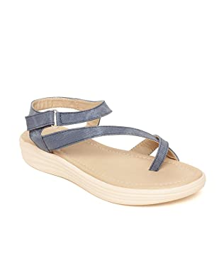 139b16060d952 BELLA TOES Women s Ladies Female s Girl Synthetic Leather Casual Regular  Sandal Wedges Fashion Sandals Fancy WEAR Casual Footwear (FL-72)  Buy  Online at Low ...