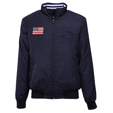 Beverly Hills Polo Club 7342J Giubbotto uomo Blue Jacket Man [L ...