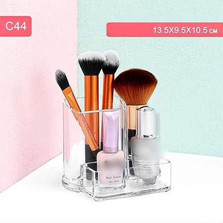 SHIZHESHOP - Caja de Almacenamiento para brochas de Maquillaje de Escritorio: Amazon.es: Hogar