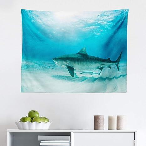 Great white shark Tapestry Wall Hanging for Living Room Bedroom Dorm Decor