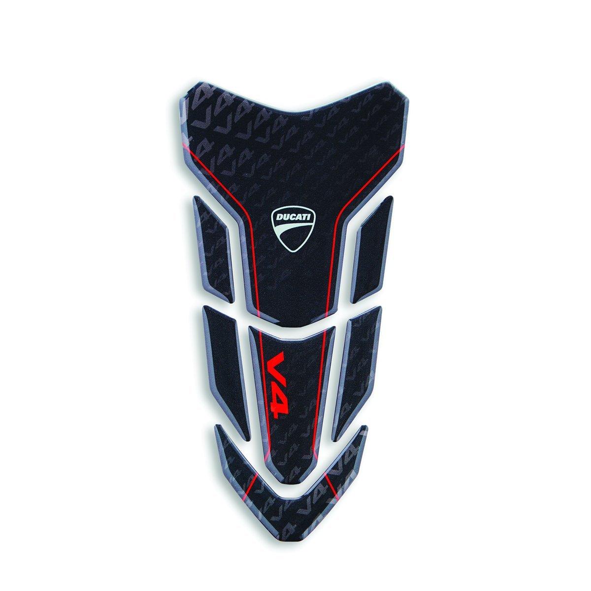 Ducati V4 V4 black adhesive tank protection. 97480171A