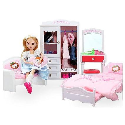 giocattoli per bambini Toy Doll Dream House Camera da letto Princess ...