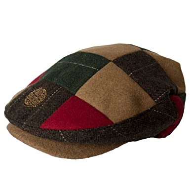 80f44ba78bb37 Image Unavailable. Image not available for. Color  Patrick Francis Ireland  Kids Tweed Flat Cap ...