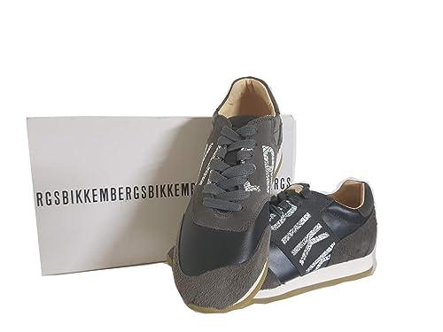Bikkembergs - Zapatillas para Hombre Gris Gris 41 EU: Amazon.es: Zapatos y complementos