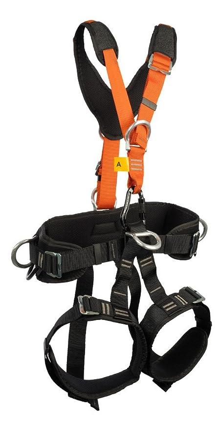 TreeUp P 90 M-XL cinturón de seguridad naranja para arnés artesano ...