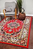 A100 Red 7'10×10'6 Area Rug Carpet Large New Review
