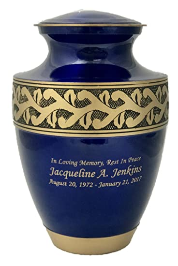 Amazon Customized Adult Cremation Urn Beautiful Funeral Urns