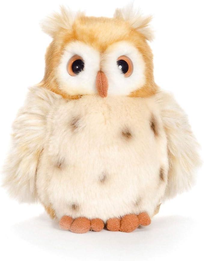 réconfortez hibou OWL BLEU-Doudou Peluche hibou environ 15 CM