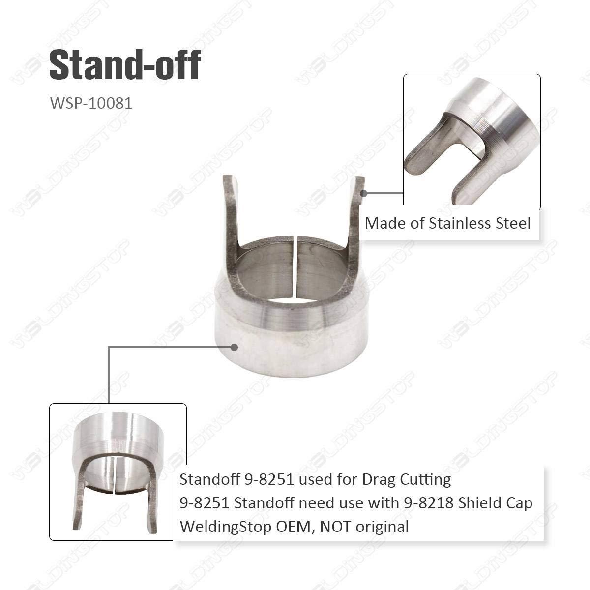 9-8215 Elektrode 9-8206 Spitze f/ür Plasmaschneiden Thermische Replication SL60 SL100 Taschenlampe 9-8251 9-8218