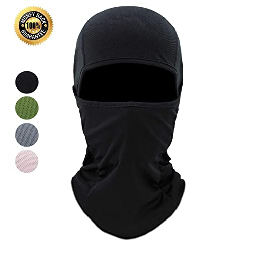 dc97bc40e07 Balaclava Face Mask Cycling Ski for Men and Women Sun Hood Tactical Masks  Suitable for Outdoor