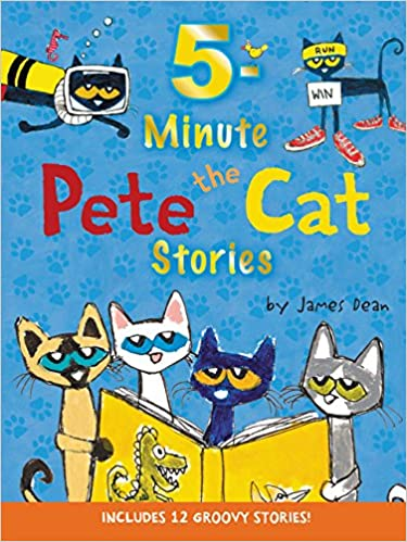 Pete the Cat: 5-Minute Pete the Cat Stories: Includes 12 Groovy ...