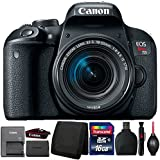 Canon EOS Rebel T7i DSLR Camera with 18-55mm Lens and Accessories