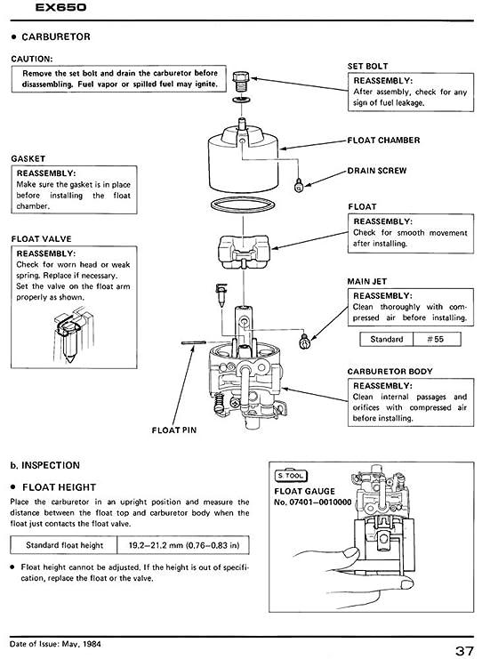 amazon com honda ex650 generator service repair shop manual automotive honda goldwing wiring-diagram honda ex 650 wiring diagram #24