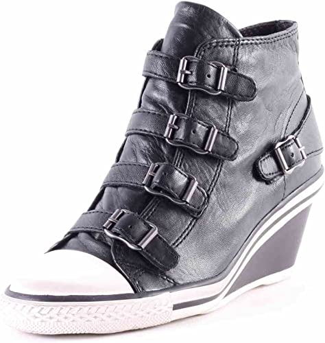 Ash Genial Mid-Wedge Womens Leather