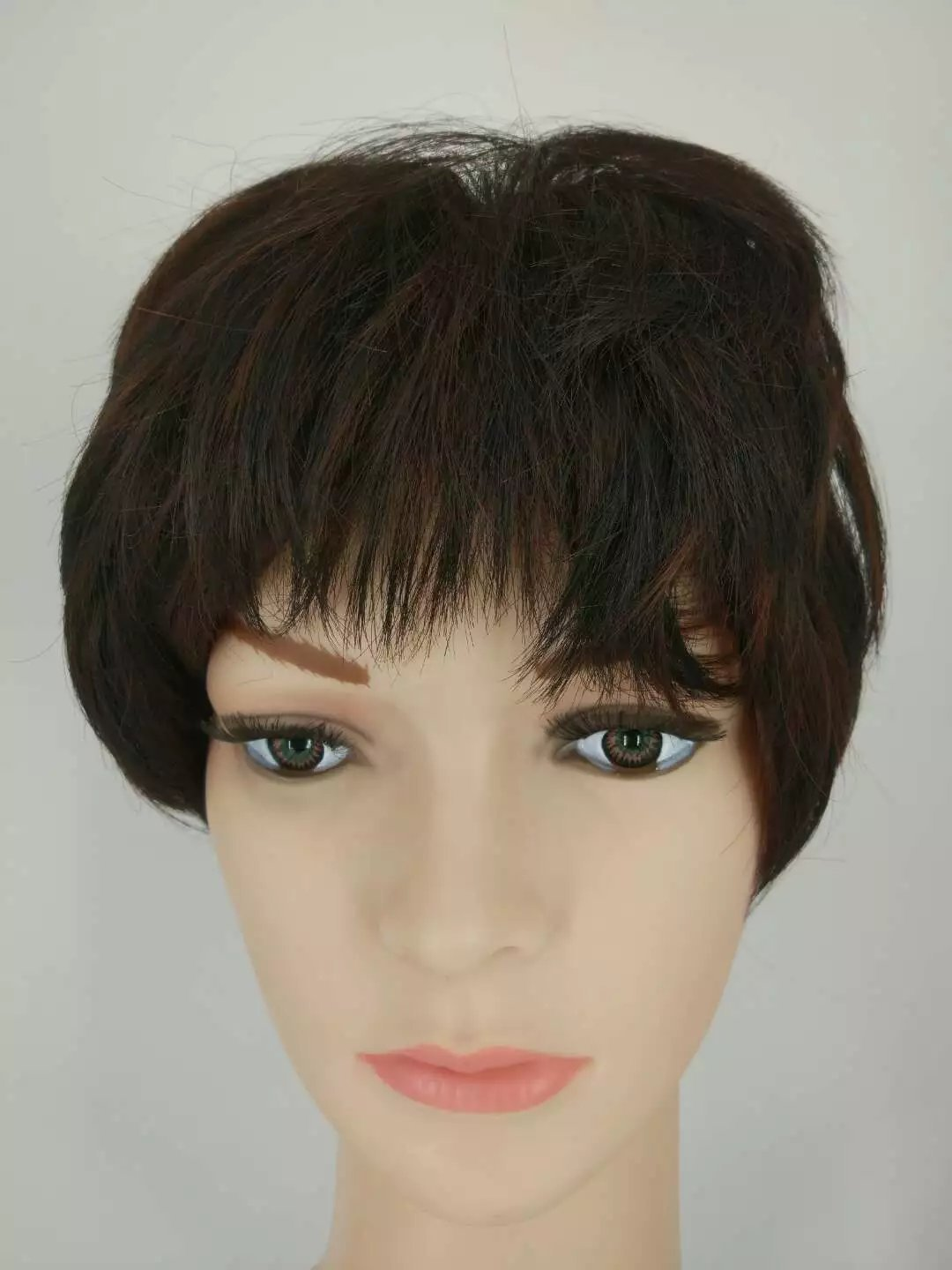 Amazon.com : Synthetic Short Wig Afro Kinky Wavy Mocha Bob Hair Wigs Cosplay European Africans Fashion Salon Synthetic Short Wig : Beauty