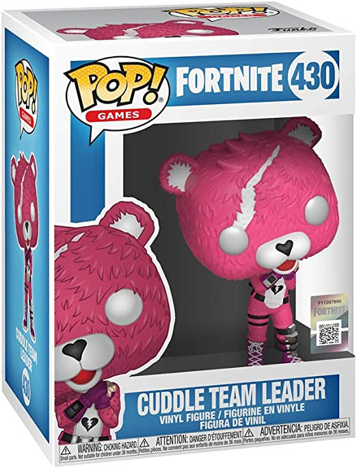 Vinyl Figure-NEW EN STOCK Fortnite Cuddle chef d/'équipe Pop