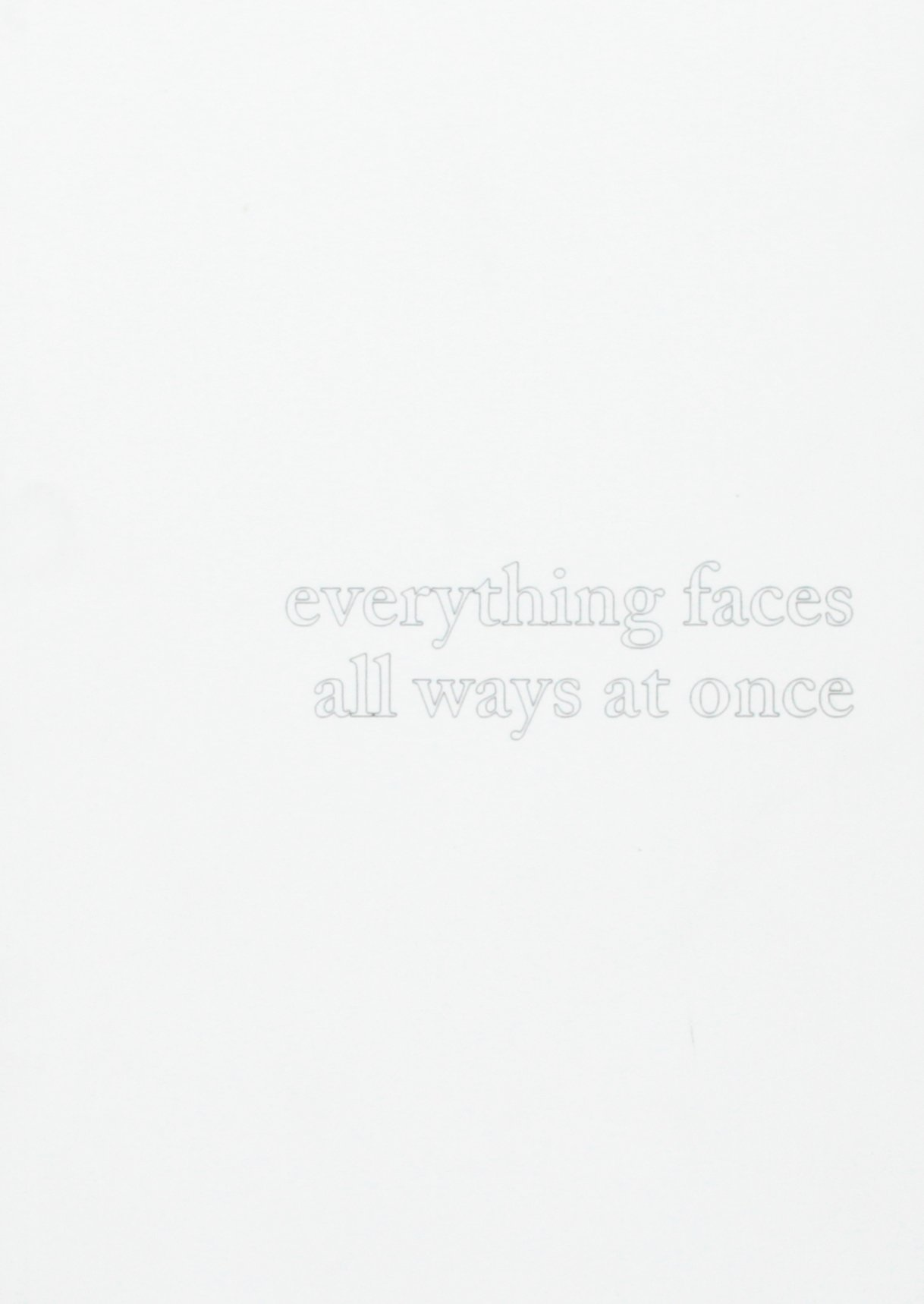 Download Everything Faces All Ways at Once PDF