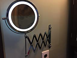 Amazon Com Kenley Wall Mounted Magnifying Makeup Mirror