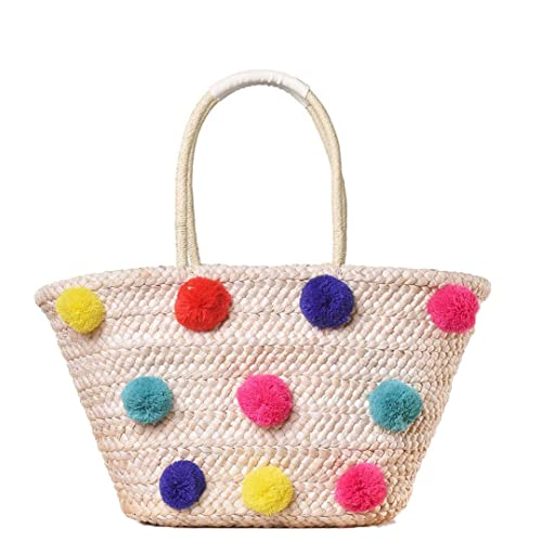 Amazon.com: Bolsas de lana coloridas para mujer, para verano ...