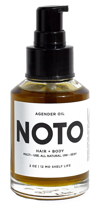 NOTO Botanics - Natural & Vegan Agender Oil (2 oz / 60 ml)