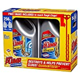 Liquid-Plumr Full Clog Destroyer, Pro-Strength (128 oz. bottles, 2 pk.) (pack of 6)