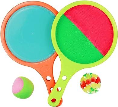 Juguete Niños Pelotas Tenis Tirar y Atrapar Juguetes Playa ...