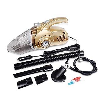 Bomba De Compresor De Aire 4 En Un Mojado Y Seco (12V96w) Aspirador del Automóvil Presión De Los Neumáticos Monitoreo De Emergencia Iluminación LED: ...