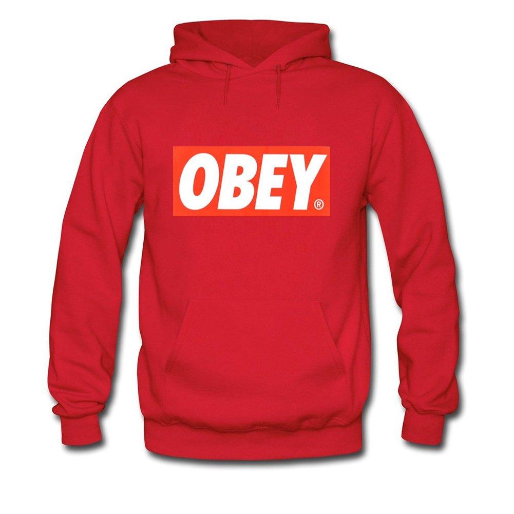 OBEY print HIP POP For Mens Hoodies Sweatshirts Pullover Outlet: Amazon.es: Ropa y accesorios