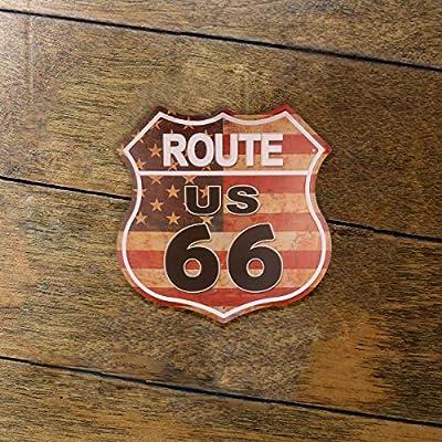 hantajanss Ruta 66 Señales Vintage Carretera Carteles para ...