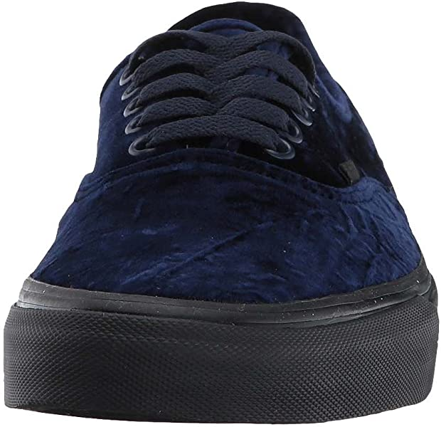 c0d96cb1a53f2f Unisex Authentic Velvet Skate Shoes-Velvet Navy