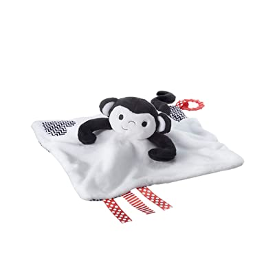 Tommee Tippee 3 in 1 Lovey, Soft Security Blanket, Teether and Puppet – Machine washable, Marco Monkey, 0+ months : Baby